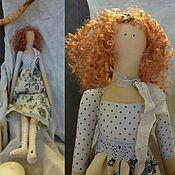 Куклы и игрушки ручной работы. Ярмарка Мастеров - ручная работа Фея винтажных тканей в стиле Тильда. Handmade.