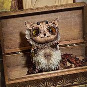 Куклы и игрушки ручной работы. Ярмарка Мастеров - ручная работа ночной дух из леса - Имп бежевый. Handmade.