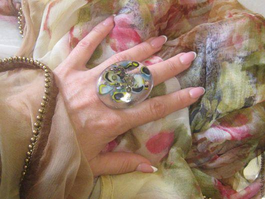 """Кольца ручной работы. Ярмарка Мастеров - ручная работа. Купить кольцо """"Кратеры Сатурна"""". Handmade. Кольцо ручной работы"""