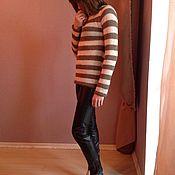 Одежда ручной работы. Ярмарка Мастеров - ручная работа свитер из мохера. Handmade.