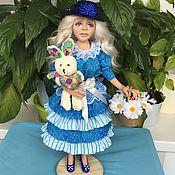 Куклы и пупсы ручной работы. Ярмарка Мастеров - ручная работа Куклы: Алиса из сказки. Handmade.