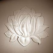 Фен-шуй и эзотерика ручной работы. Ярмарка Мастеров - ручная работа Лотос ( рельеф ). Handmade.