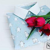 Одежда ручной работы. Ярмарка Мастеров - ручная работа Рубашка с мишками. Handmade.