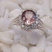 Украшения handmade. Livemaster - original item Silver ring with tourmaline.. Handmade.