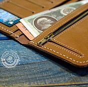 Сумки и аксессуары handmade. Livemaster - original item Wallet (minimal art). Handmade.