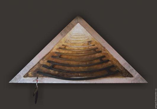 Символизм ручной работы. Ярмарка Мастеров - ручная работа. Купить Лестница в небо. Handmade. Коричневый, мистика, эзотерика, песочный, кофейный