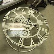 Стол кофейный круглый Циферблат