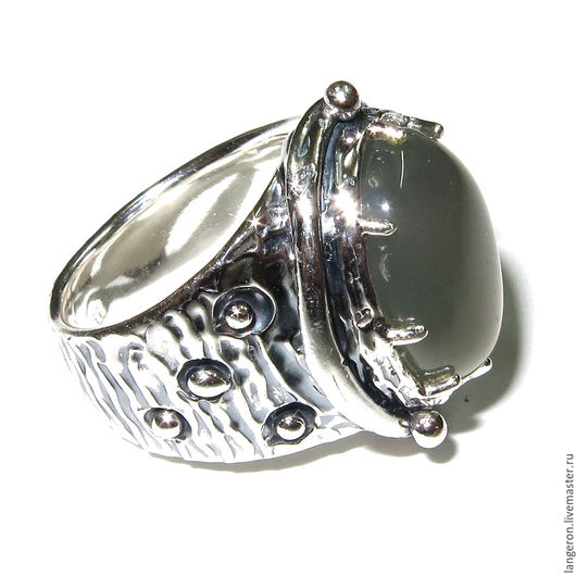 """Кольца ручной работы. Ярмарка Мастеров - ручная работа. Купить Серебряное кольцо """"Лондон"""". Серебро 925 пробы. Натуральный опал.. Handmade."""