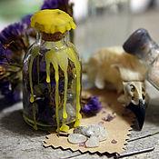 """Фен-шуй и эзотерика ручной работы. Ярмарка Мастеров - ручная работа Защитный оберег """"Ведьмина бутылка Fullmoon Shield"""". Handmade."""