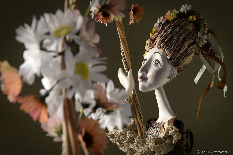 Collectible doll ' Chamomile mood', Dolls, Murmansk,  Фото №1