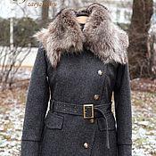 Одежда ручной работы. Ярмарка Мастеров - ручная работа Пальто зимнее Шинель. Handmade.