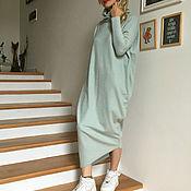 Одежда ручной работы. Ярмарка Мастеров - ручная работа Платье HALABUDA MINT. Handmade.