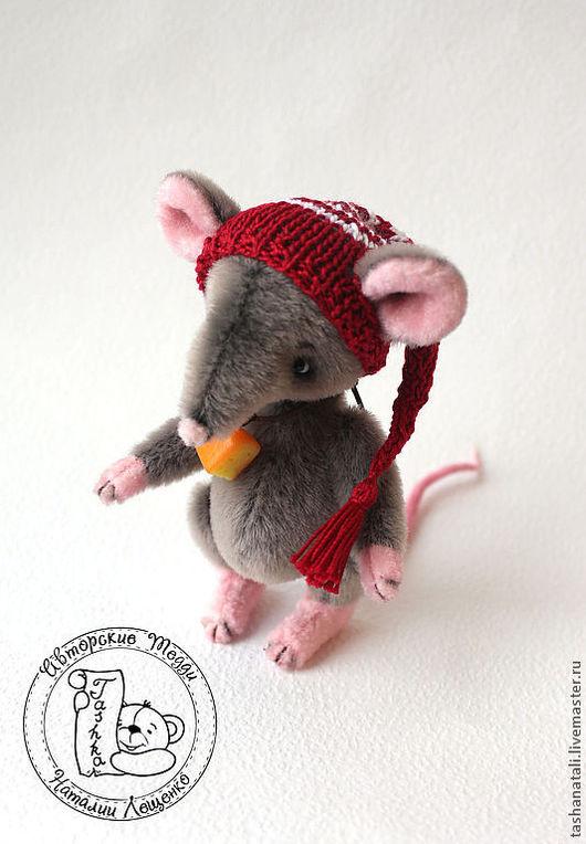 Мишки Тедди ручной работы. Ярмарка Мастеров - ручная работа. Купить Крыс Себастиан. Handmade. Серый, серая крыса