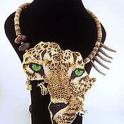 Украшения ручной работы. Ярмарка Мастеров - ручная работа Колье Африка.  Леопард.. Handmade.