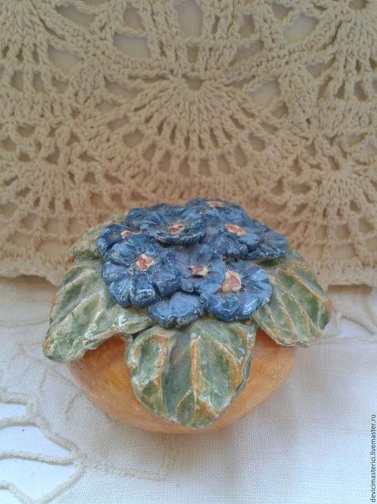 Миниатюра ручной работы. Ярмарка Мастеров - ручная работа. Купить Миниатюра вазочка керамика. Handmade. Комбинированный, дом мечты