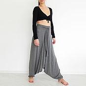 Одежда handmade. Livemaster - original item harem pants women, pants trousers, harem pants big size. Handmade.