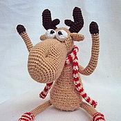 Куклы и игрушки ручной работы. Ярмарка Мастеров - ручная работа А я Лось, просто Лось!. Handmade.