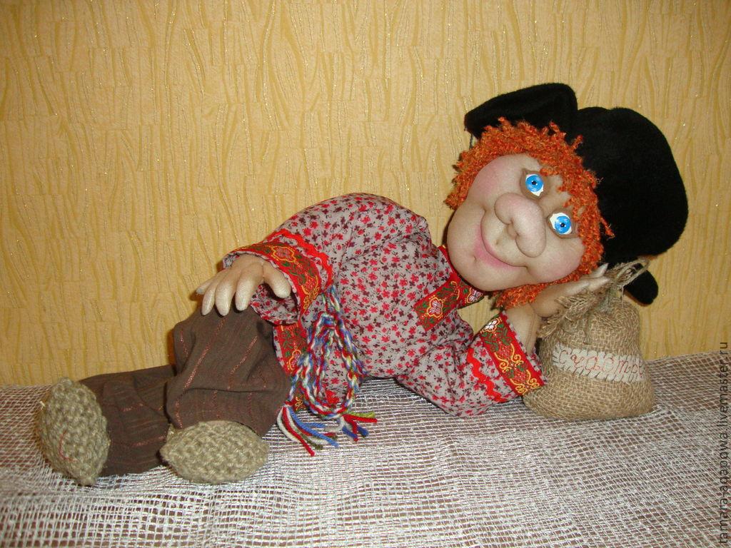 Сделать куклу своими руками домового из 5