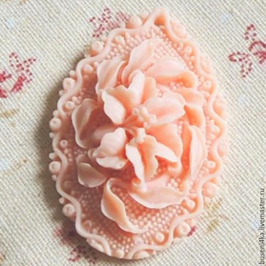Для украшений ручной работы. Ярмарка Мастеров - ручная работа. Купить Подвеска Розовая Орхидея 29х44мм, капля (1шт). Handmade.
