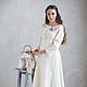 Платья ручной работы. Валяное платье «Bride». Irina Demchenko. Интернет-магазин Ярмарка Мастеров. Валяное платье, авторское платье