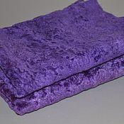 Материалы для творчества handmade. Livemaster - original item Plush purple. Handmade.