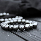 Украшения handmade. Livemaster - original item Hematite bracelet
