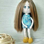 Куклы и пупсы ручной работы. Ярмарка Мастеров - ручная работа Вязаная интерьерная кукла. Handmade.