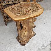 Для дома и интерьера ручной работы. Ярмарка Мастеров - ручная работа стол со спилами круглый. Handmade.