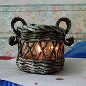 Для дома и интерьера handmade. Livemaster - original item candle holder with floating candle. Handmade.