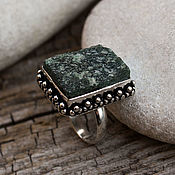 Украшения handmade. Livemaster - original item Ring druzey quartz