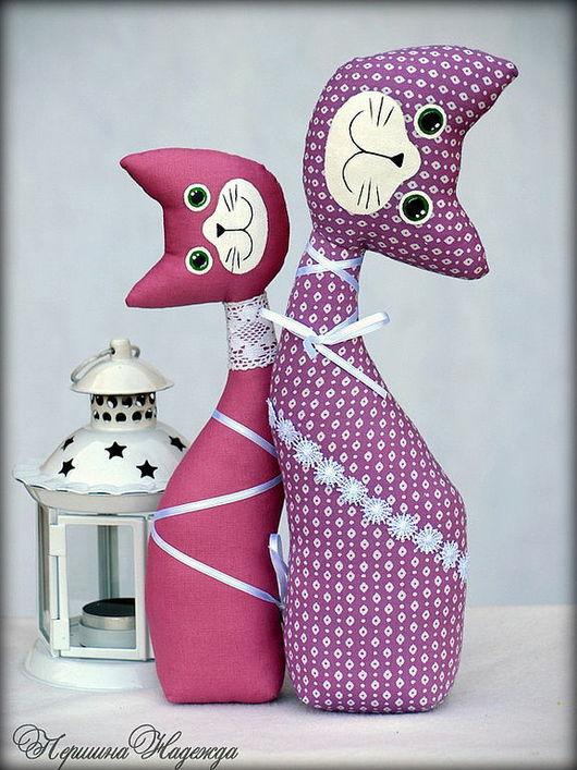 Куклы Тильды ручной работы. Ярмарка Мастеров - ручная работа. Купить Лавандовая любовь. Handmade. Кошечки, лаванда, интерьерная игрушка