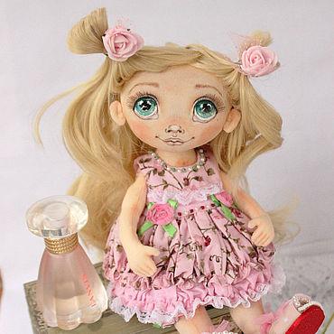 Dolls & toys handmade. Livemaster - original item Textile doll. Doll from fabric. interior doll. Handmade.