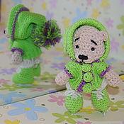 Куклы и игрушки ручной работы. Ярмарка Мастеров - ручная работа Фигуристка. Handmade.