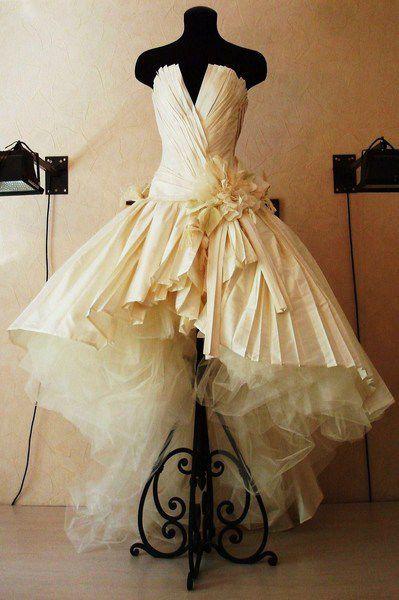 Одежда и аксессуары ручной работы. Ярмарка Мастеров - ручная работа. Купить Образ для невесты. Handmade. Свадебное платье, шёлк натуральный