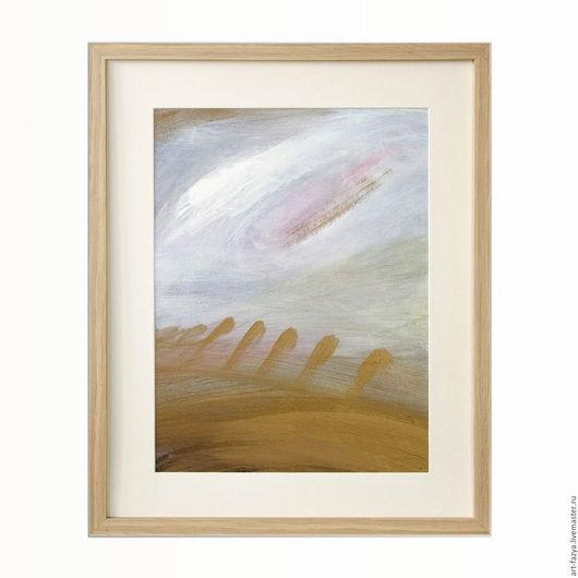 Картина в раме под стеклом