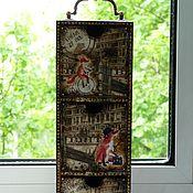"""Для дома и интерьера ручной работы. Ярмарка Мастеров - ручная работа Мини-комод на три ящика  """"Лондонские жители"""". Handmade."""