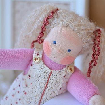 Куклы и игрушки ручной работы. Ярмарка Мастеров - ручная работа Вальдорфская кукла Милашка, 26 см. Handmade.