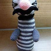 Куклы и игрушки ручной работы. Ярмарка Мастеров - ручная работа Кот или кошка?. Handmade.