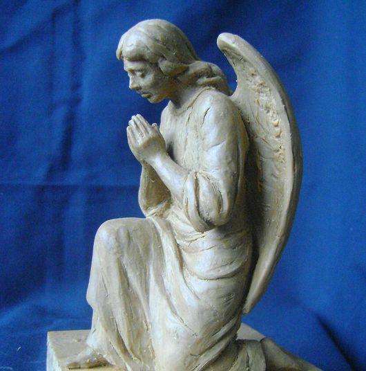 Элементы интерьера ручной работы. Ярмарка Мастеров - ручная работа. Купить Молящийся ангел. Handmade.