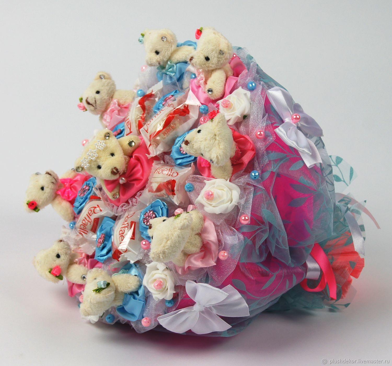 """Букет из игрушек и конфет """"Хоровод"""", Букеты, Москва, Фото №1"""