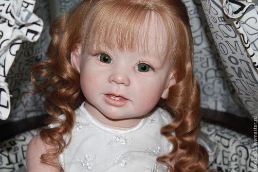 Куклы-младенцы и reborn ручной работы. Ярмарка Мастеров - ручная работа. Купить Злата. Handmade. Фуксия, подарок на день рождения