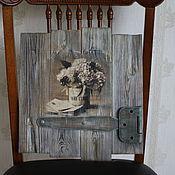 """Картины и панно ручной работы. Ярмарка Мастеров - ручная работа Дуэт панно """" Дверца старого замка"""". Handmade."""