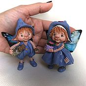Куклы и игрушки ручной работы. Ярмарка Мастеров - ручная работа Сюзи и Вилли. Handmade.