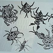 """Картины и панно ручной работы. Ярмарка Мастеров - ручная работа Рисунок """"Собрание"""". Handmade."""