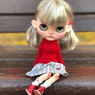 Куклы и игрушки ручной работы. Ярмарка Мастеров - ручная работа Кукла Блайз (кастом) Sasha. Handmade.