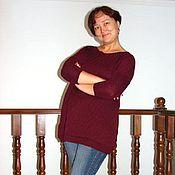 Одежда ручной работы. Ярмарка Мастеров - ручная работа Вязаный свитер. Handmade.