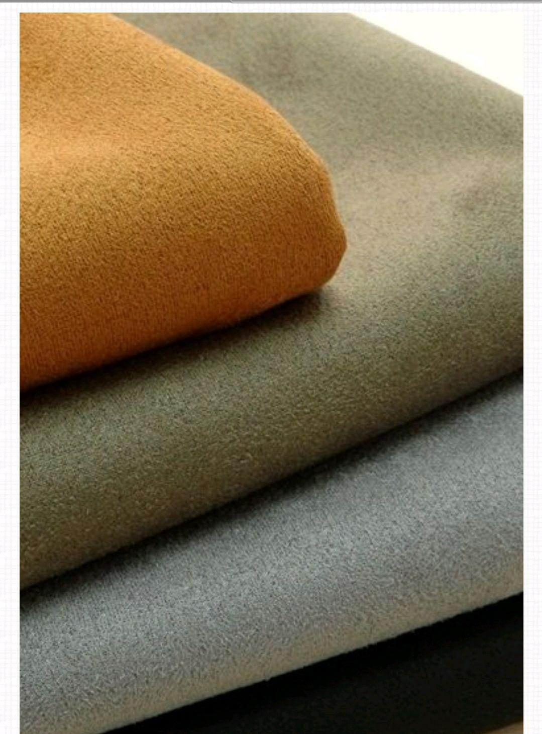 Ткань замша искусственная 4 цвета  Италия, Замша, Москва,  Фото №1