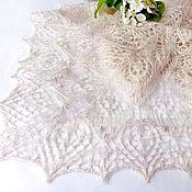 Аксессуары handmade. Livemaster - original item Blossom Shawl. Hand Knitting. Shawl for Wedding, Knitted Shawl. Handmade.