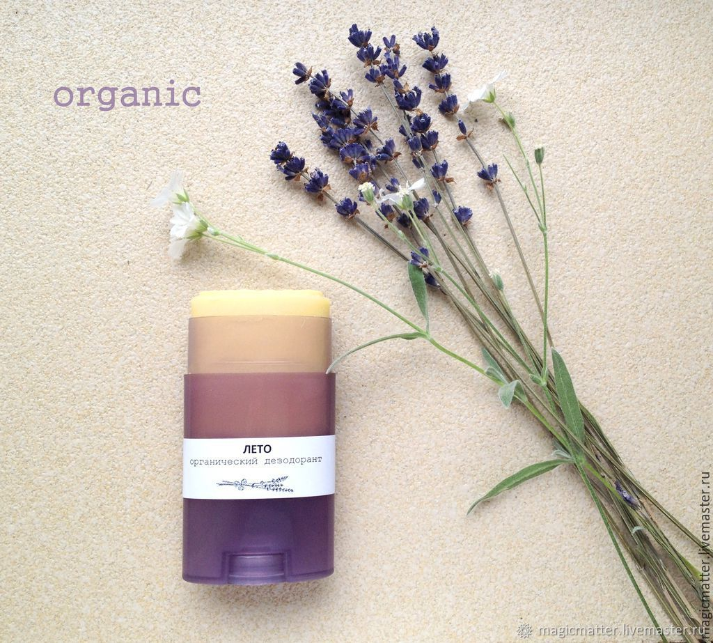 Organic deodorant stick, Deodorants, Temryuk,  Фото №1