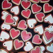 Подарки к праздникам ручной работы. Ярмарка Мастеров - ручная работа Расписные имбирные печенья. Handmade.
